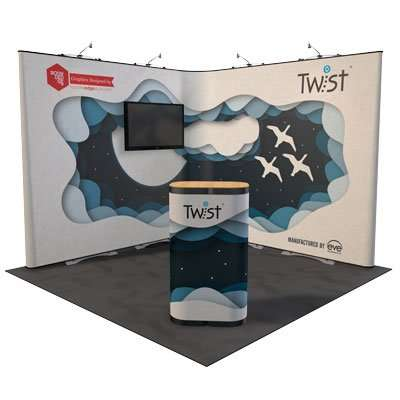 Twist double hard case template