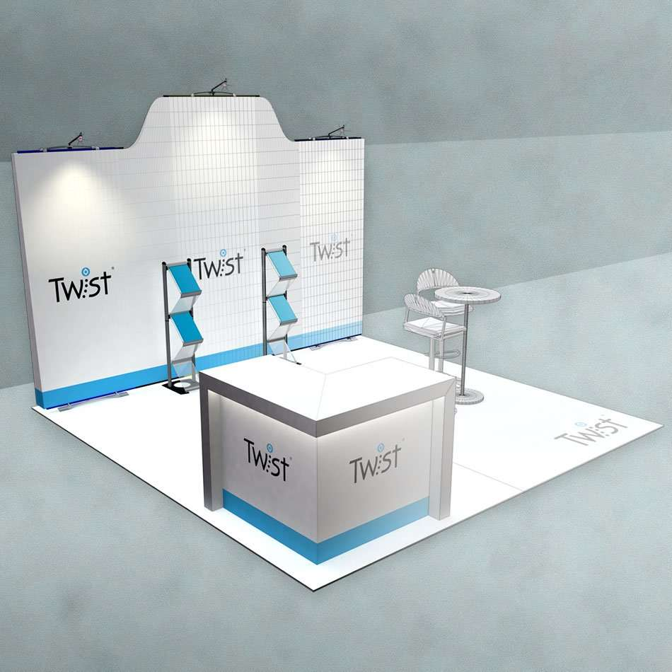 Exhibition Stand Design 3d Max : Cad stand design u exhibition services u rounded edge studio