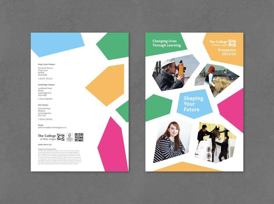 Fresh look FE & HE course guides