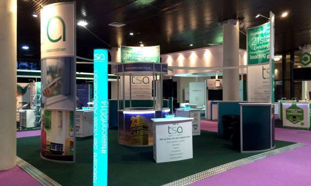 A stand fit for a show organiser