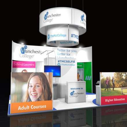 Custom Modular Exhibition Stand TMC