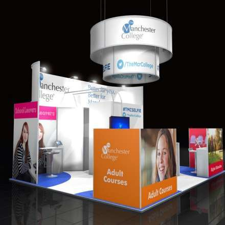 Custom Modular Exhibition Stand 2