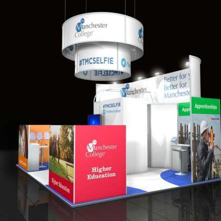 Custom Modular Exhibition Stand